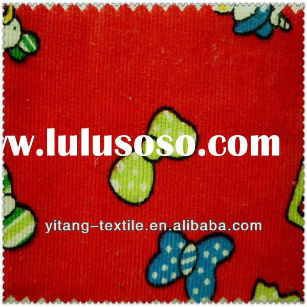 Cotton chenille fabric by the yard