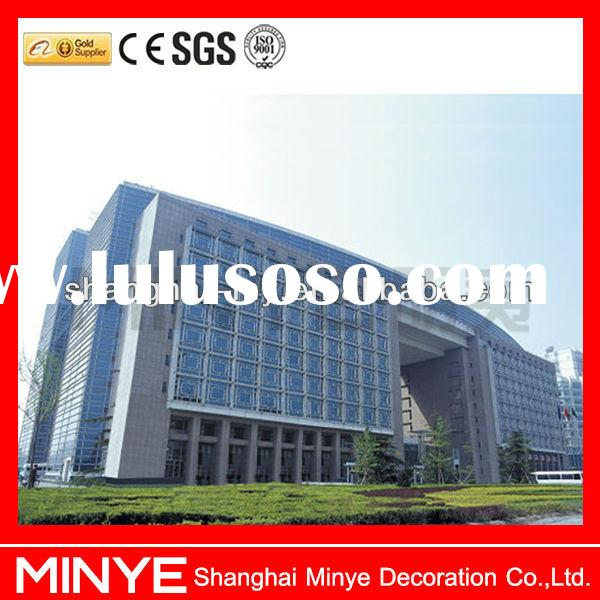 Curtain wall system/frameless glass curtain wall/glass curtain wall