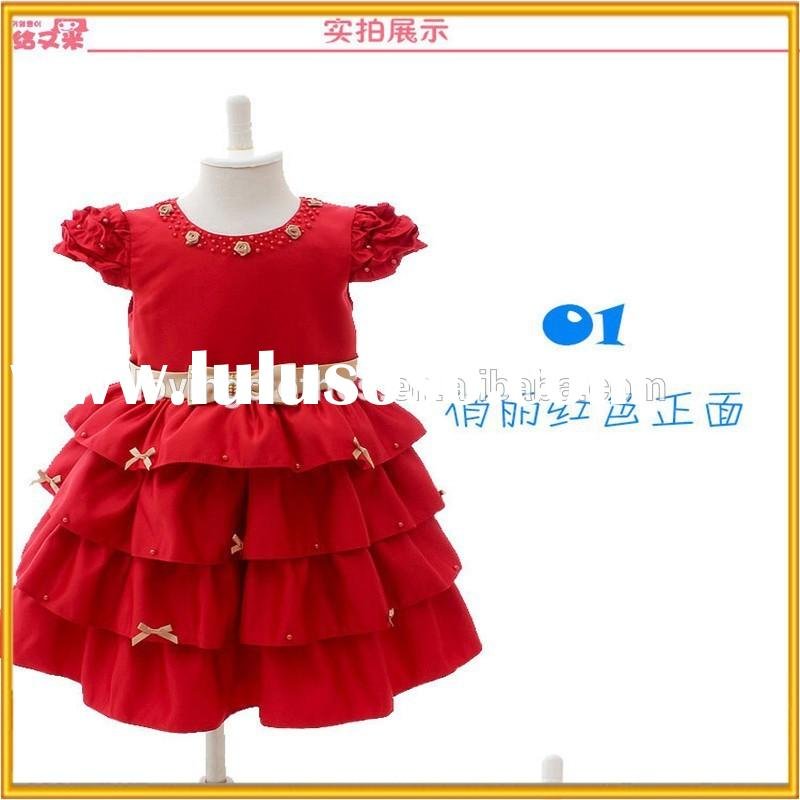 Cute Girl Birthday Fashion Dress, latest children frocks designs,Baby Girls Evening Dress