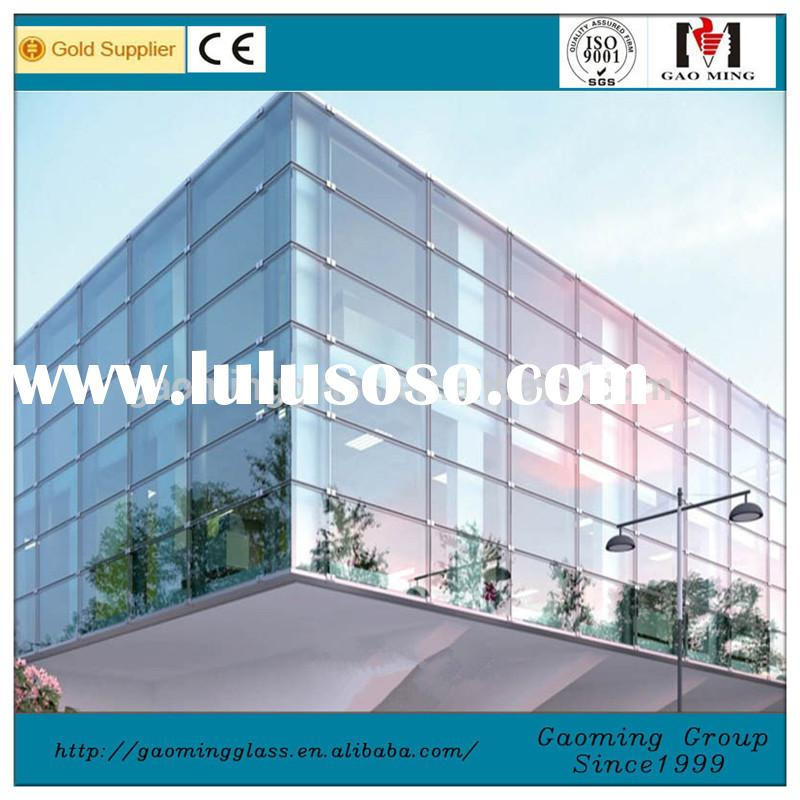 Frameless Double Glass Curtain Wall,Glass Curtain Wall,Curtain Walls Aluminum Price 3383