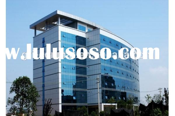 frameless glass curtain wall/decorative wall panel/Aluminum Curtain Wall Profiles for Building Frame
