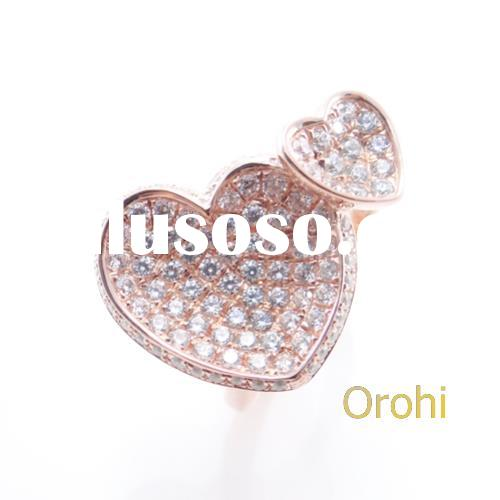good quality jewellery,jewelry design engagement ring,heart shaped nipple ring. -SMR859