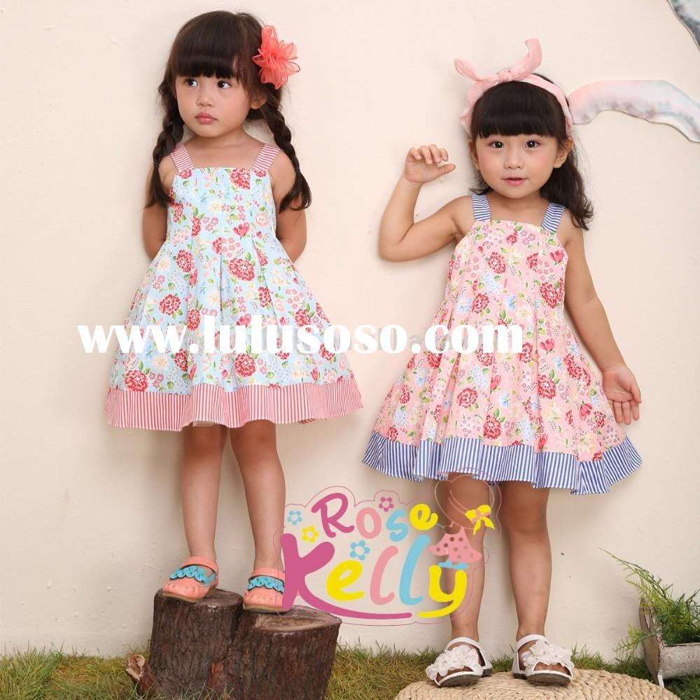 2015 China summer latest wholesale baby dress cutting , Carter's Baby Clothing,frock design