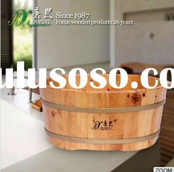Chinese manufacturer foot basin, hot sale foot soaking basin,wholesale wooden basin