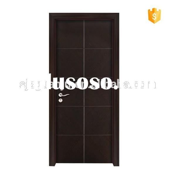 Hollow core steel door steel door made in china powder for Solid core flush door price