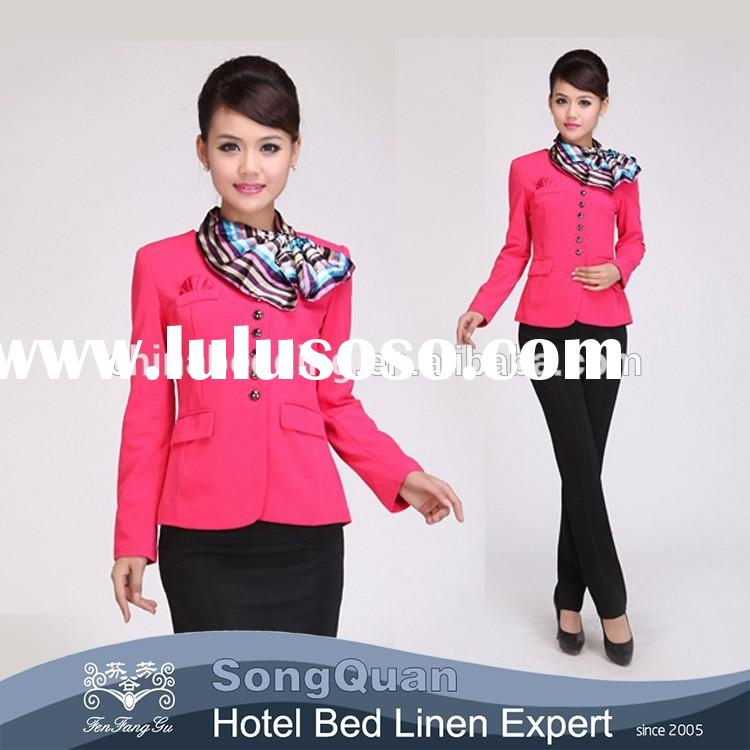 Guangzhou Supply Sample Office Staff Uniform Designs For Women