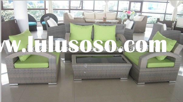 High quality outdoor furniture wicker sofa set /Patio furniture