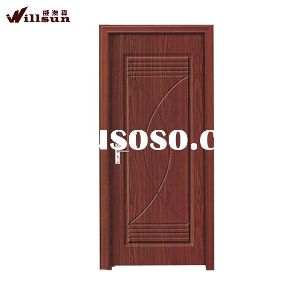 Made in china door and windows solid core mdf interior doors PVC door