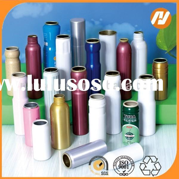 Refillable aluminum aerosol spray can wholeseller china supplier