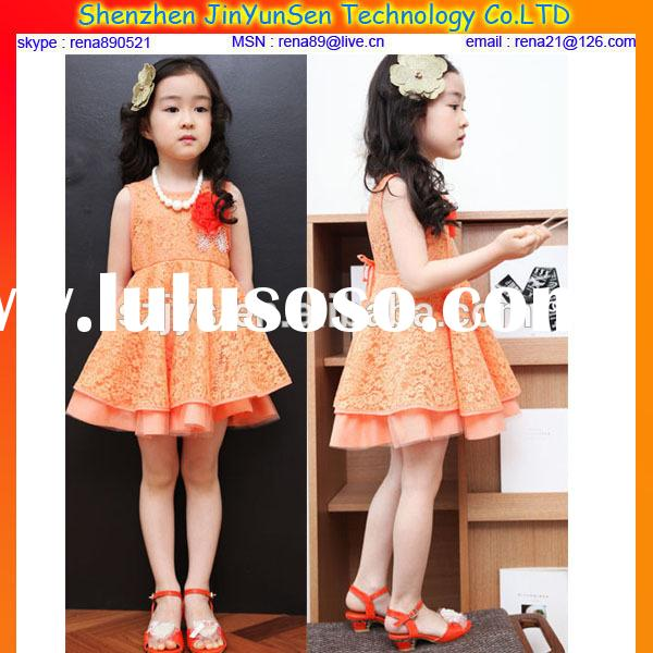 baby dress new style frock design for girls,skirt with shoulder-straps