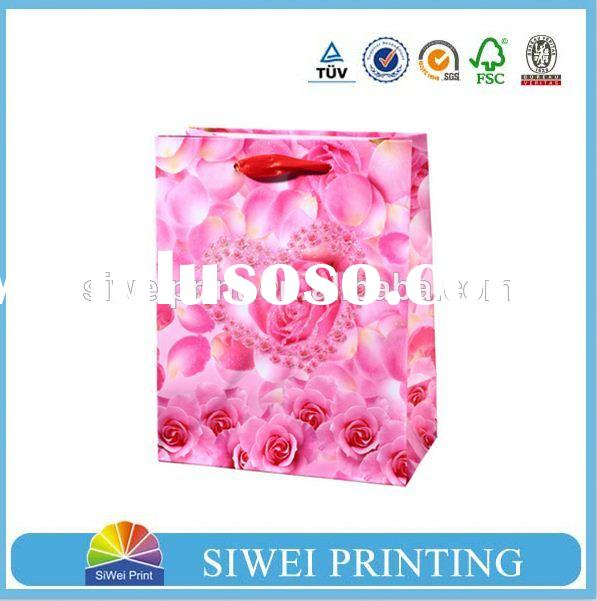 different types of paper bags, decorative paper bag for gift