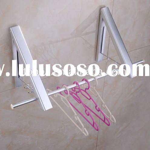folding wall mounted clothes drying racks