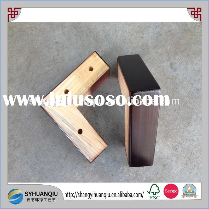 high quality CNC machine produced wooden sofa legs wooden furniture legs part
