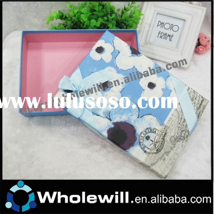 2014 Decorative Cardboard Boxes With Lids