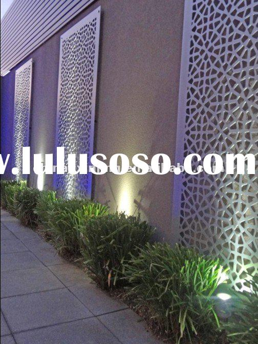 Decorative perforated metal screen panel/aluminum wall decoration (ISO9001,CE)