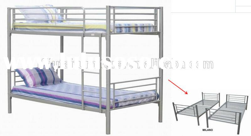 Good quality hot sale kids double bunk bed