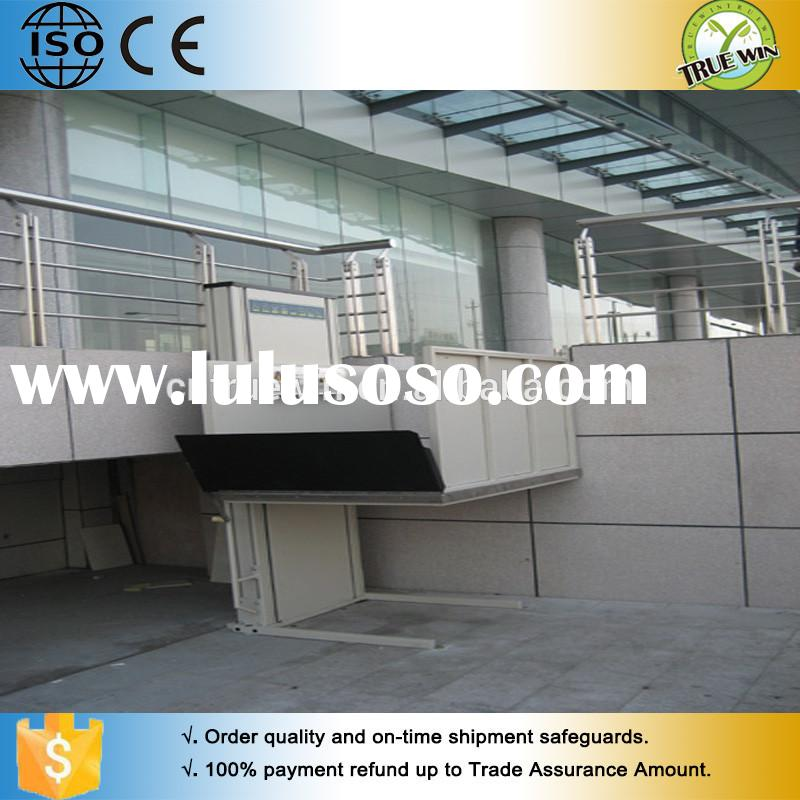 HYDRAULIC disabled scooter CE Stainless Steel manual wheelchair lift