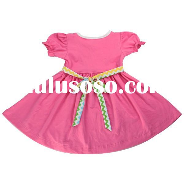 High quality hot sales girls frock designs for party