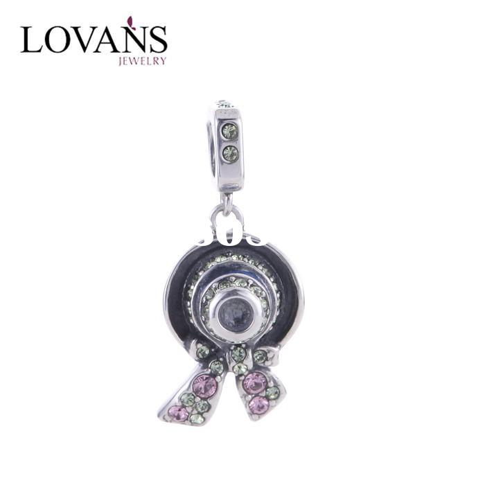 Large Beads Jewelry Making Wholesale 925 Sterling Silver Jewelry Charms For European Bracelet And Ba