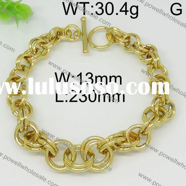 New Arrive New Style 14k gold chain link bracelet pave chain bracelet bracelet chain for women