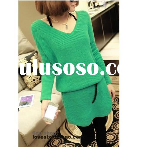 V NECK PULLOVER SWEATER, NEW STYLES AUTUMN FASHION SWEATER FOR WOMEN