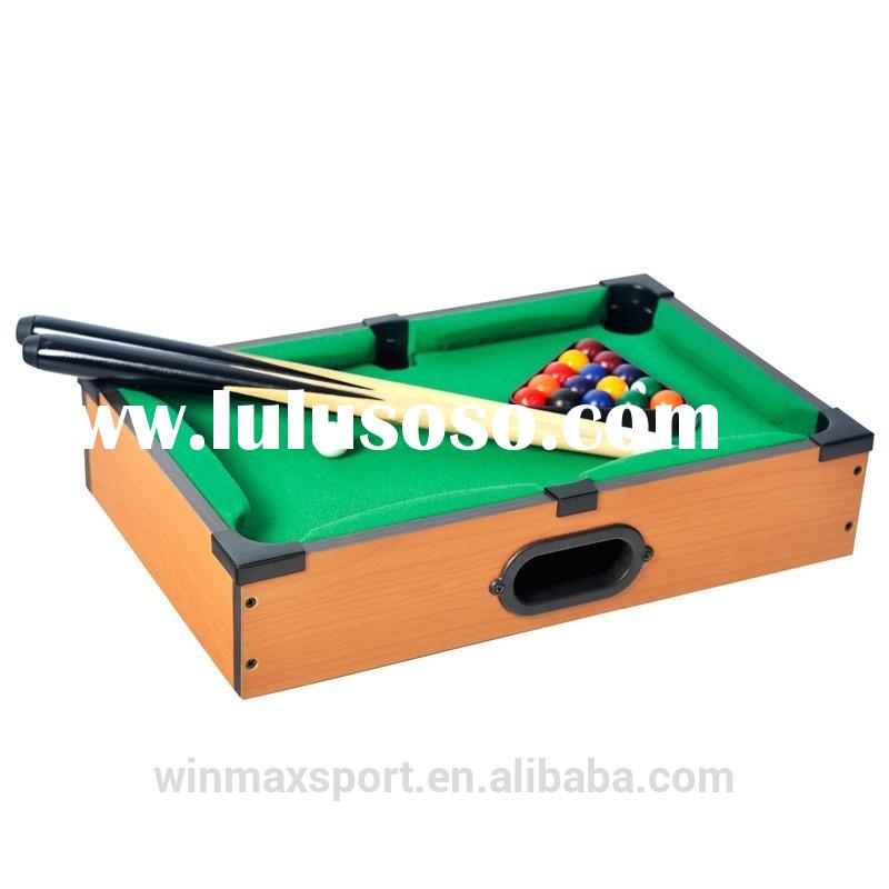 cheap mini pool table/mini toy pool game table/fancy game pool tables for kids