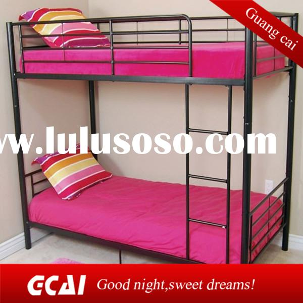 hot sale durable double bunk beds for kids