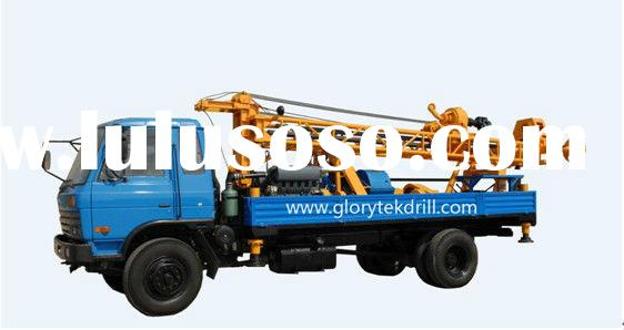 250m low price truck mounted water well drilling equipment