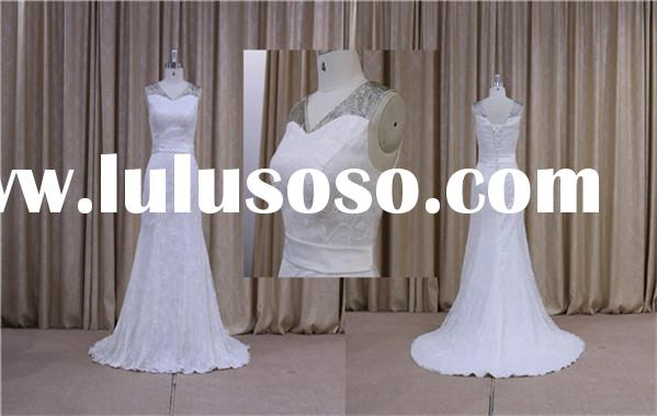 Embellished puffy ladies dresses evening party