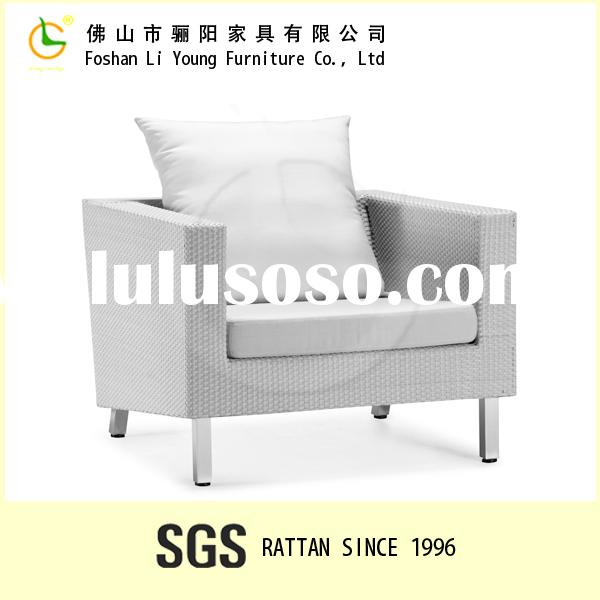 Hot sale Popular aluminium Cane Rattan sofa design Garden Furniture modern bedroom sets