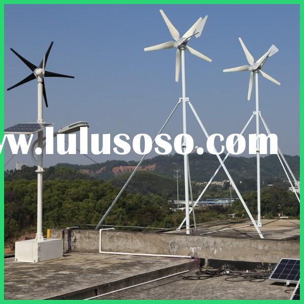 how to set up wind turbine for home