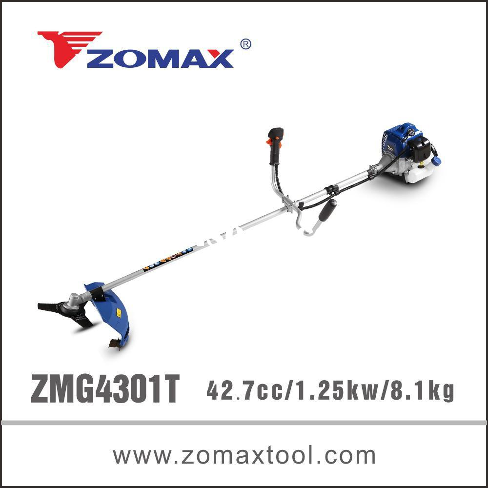Chinese manual grass cutter machine for grass cutting 42.7cc 2 stroke from industry