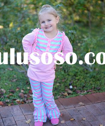 Girls boutique sets kids unique pre back to school clothing sets wholesale baby girls clothing 2015