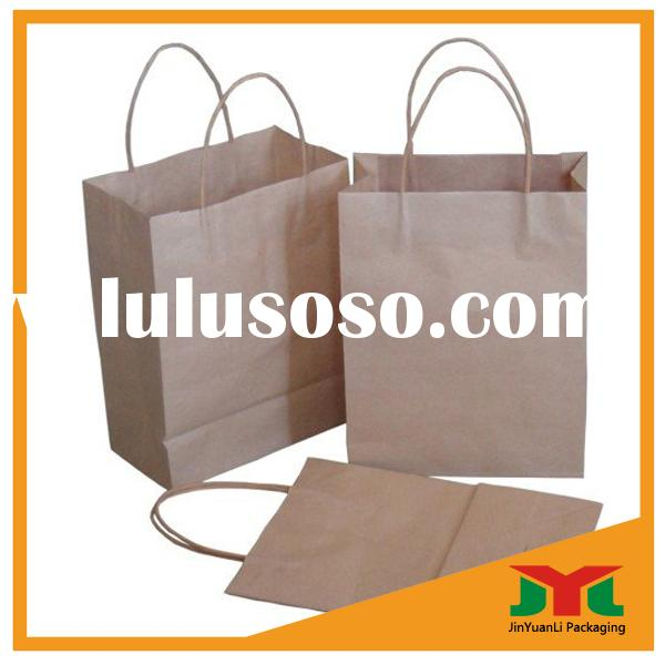 High quality craft paper bags for rice cloth