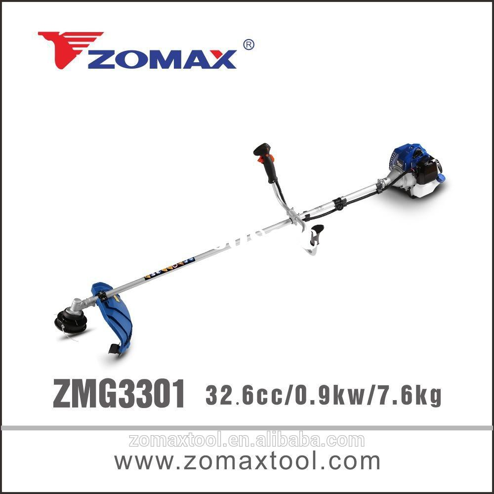 grass cutting machine 32.6cc ZMG3301 0.9kw parts for trimmer to manual grass cutter for hand