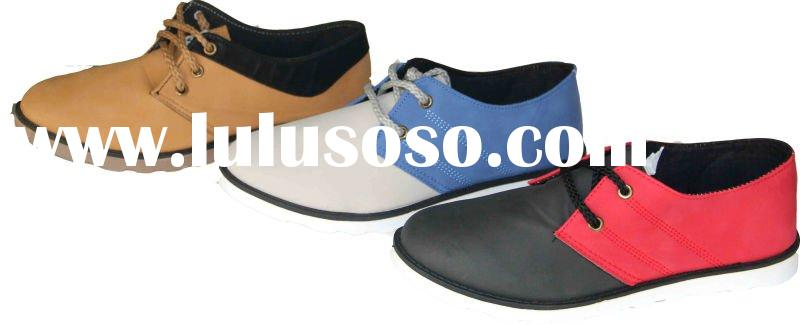 men's injection sole casual shoes
