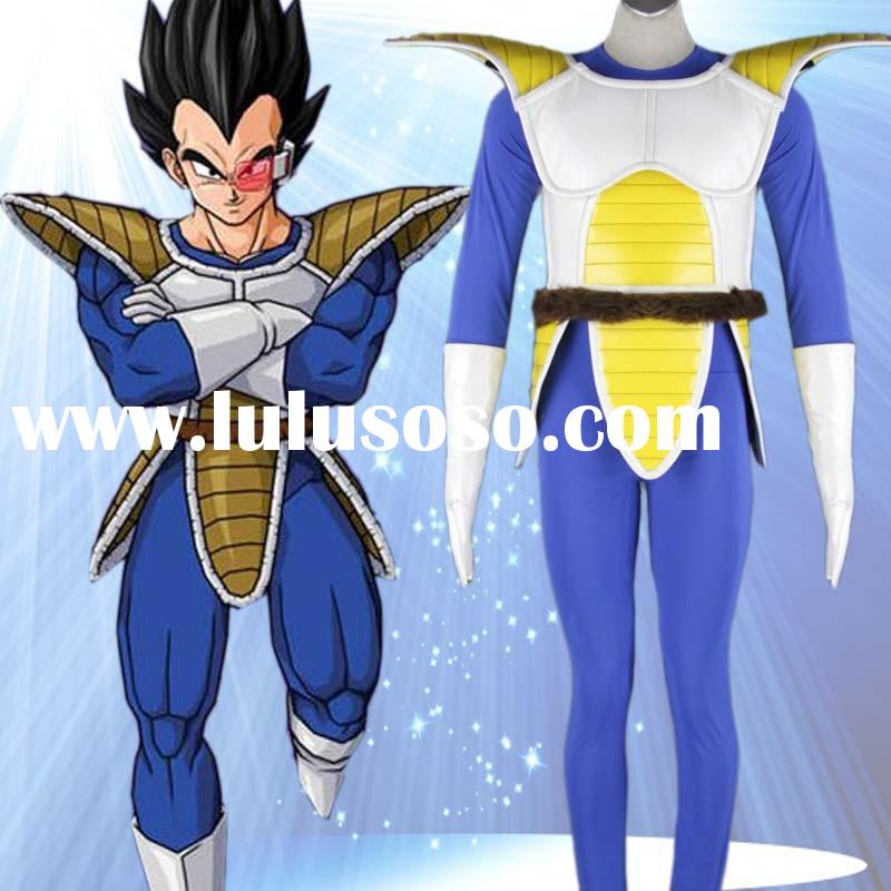 C055 Wholesale Dragon Ball Anime Cosplay Costumes For Adult
