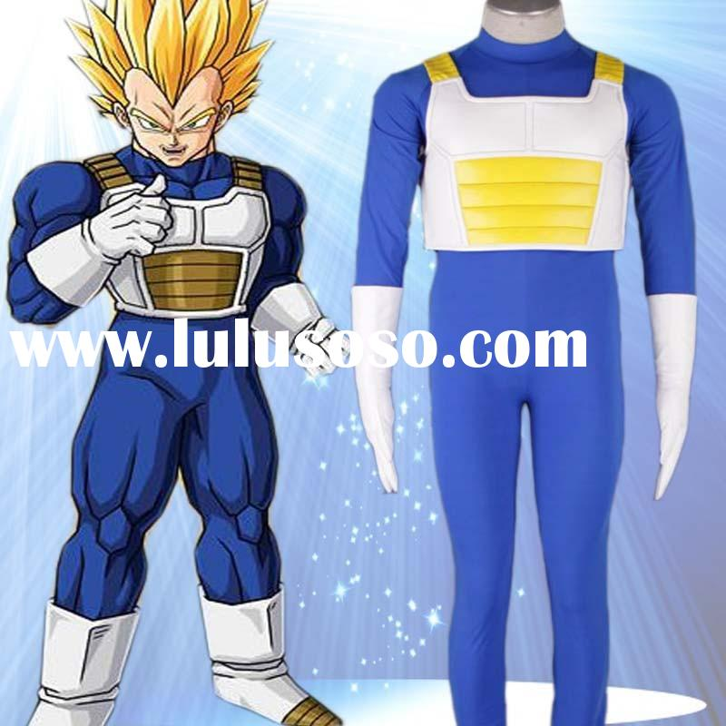 C056 Wholesale Dragon Ball Anime Cosplay Costumes For Adult