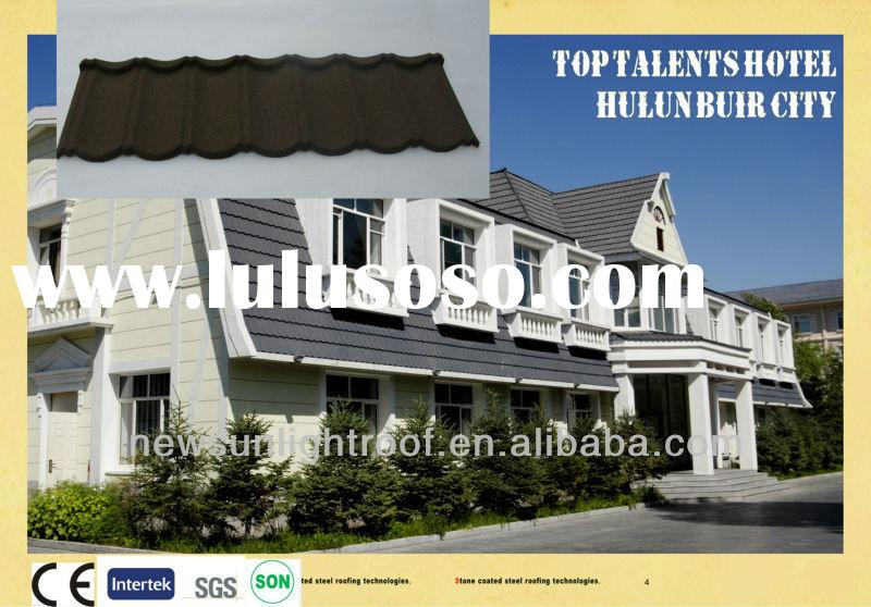 Classical metal corrugated tile roofing/roof heat insulation materials /steel roof tile