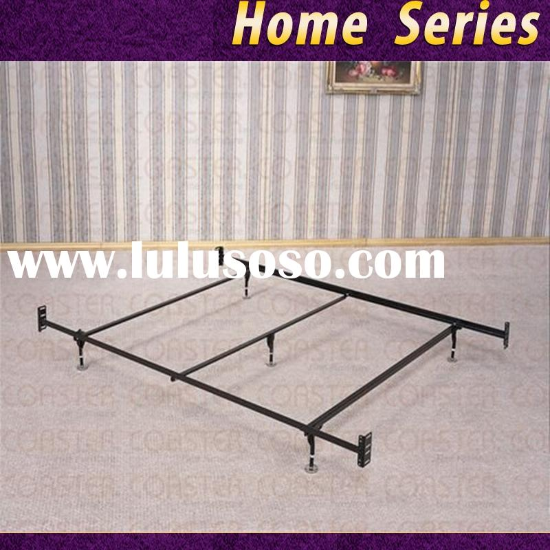 Coaster Bed Frame Rail for Headboard and Footboard with 5-Legs and Glides Queen