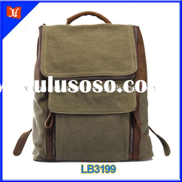 Convertible Canvas Backpack cotton canvas messenger bag plain canvas messenger bag school canvas mes