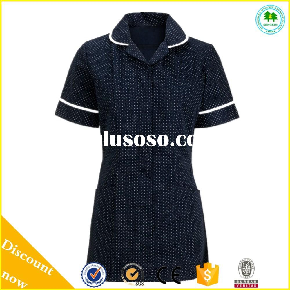 European design hospitail clothing nurse uniform for sale