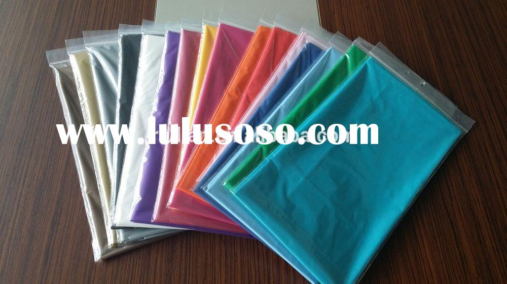 Fancy Table Linen supplier plastic wedding table cloth,cheap table skirting