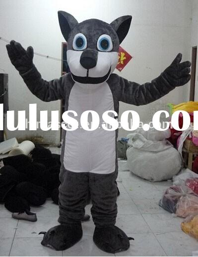 HI CE anime Mascot Costume Party Siberian Husky mascot costume for adult