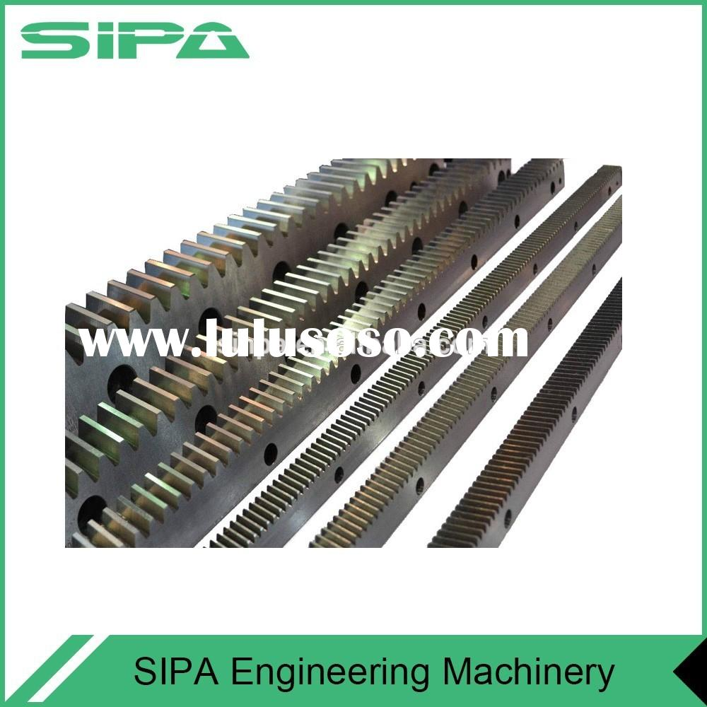 High quality helical linear motion system / rack pinions gear design for Construction Hoist spare pa