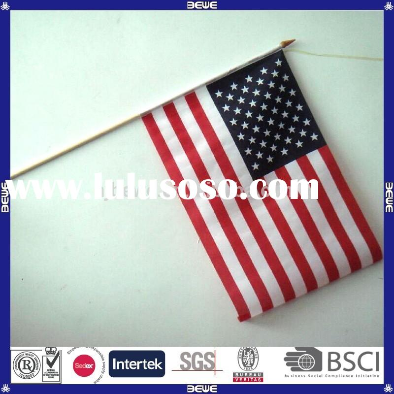 made in China cheap price parade wood flag pole