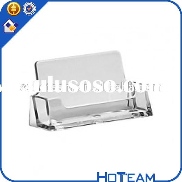 made in china wall mounted Acrylic Business Card Holder Acrylic/Plexi/PMMA acrylic box of business c