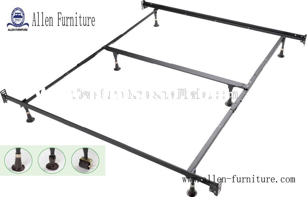 metal bed frame twin full queen with headboard and footboard