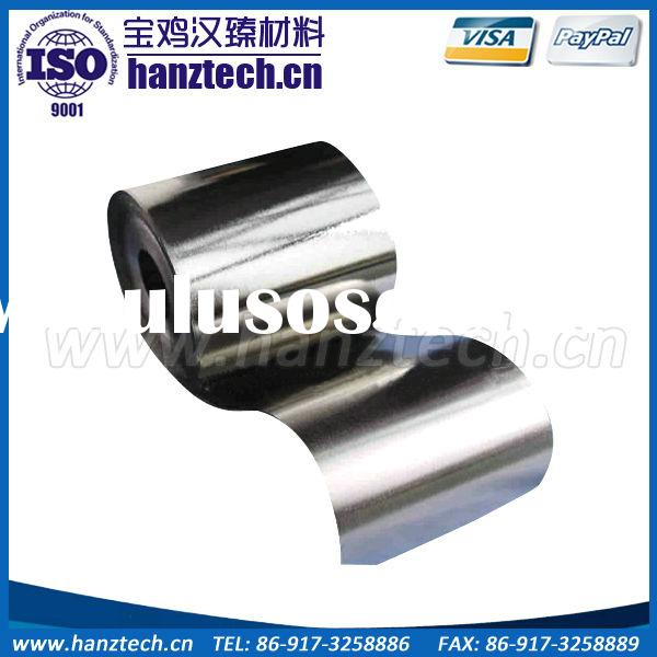 molybdenum foil used aircraft parts
