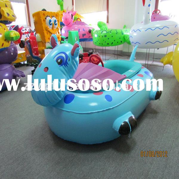 water rubber pool game electric battery adult bumper boats for sale